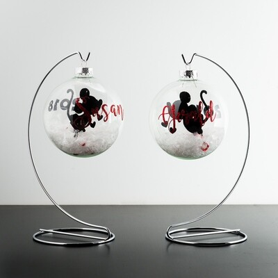 Glass Ornament - Floating