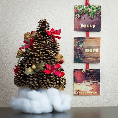 3-Panel Wall Art - Jolly & Hope