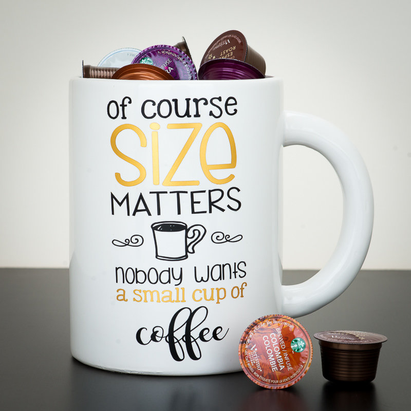 Giant Mug - Of Course Size Matters