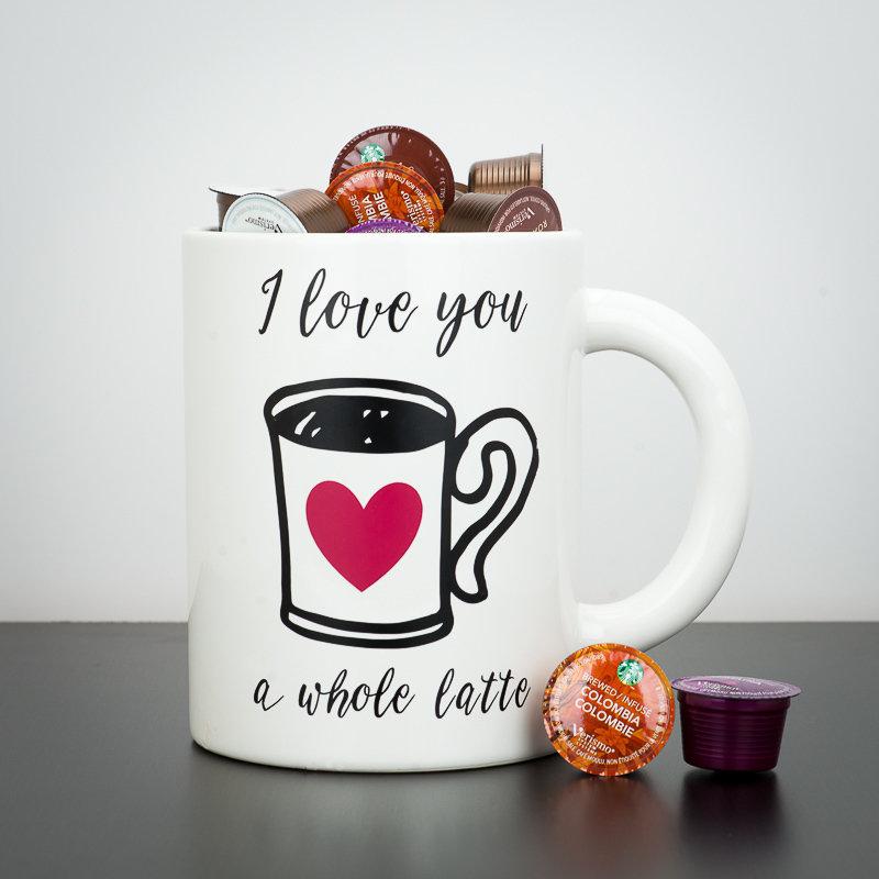 Giant Mug - I Love You A Whole Latte