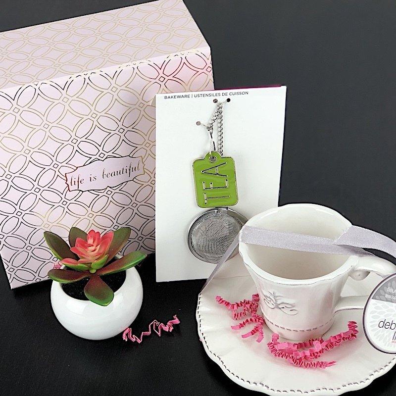 Gift Box - Life Is Beautiful Tea Set