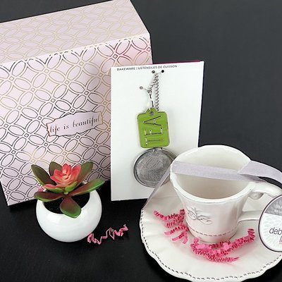 Gift Box - Life Is Beautiful Tea Set