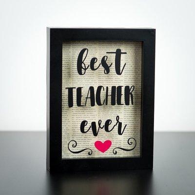 Shadow Box - Best Teacher Ever (5