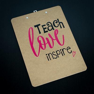 Clipboard - Teach Love Inspire