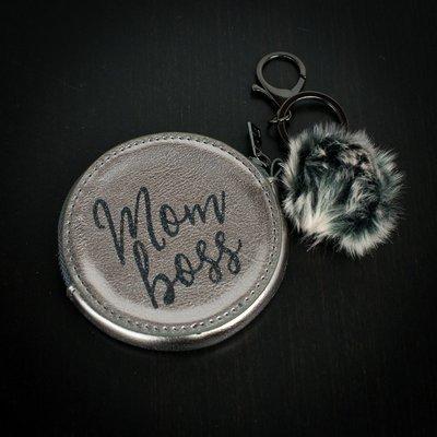 Coin Purse - Mom Boss
