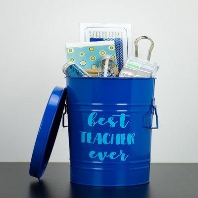 Tin Can - Best Teacher Ever (Blue)