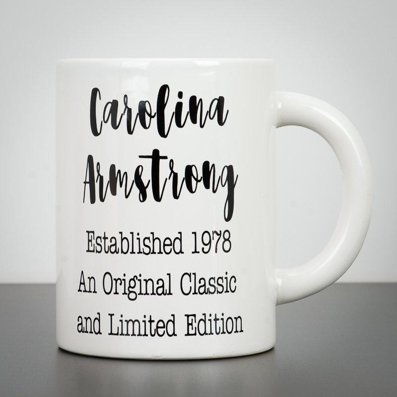 Giant Mug - Milestone Birthday