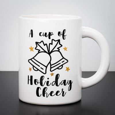 Giant Mug - A Cup of Holiday Cheer