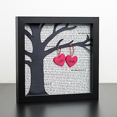 Shadow Box - Song Lyric Print (8