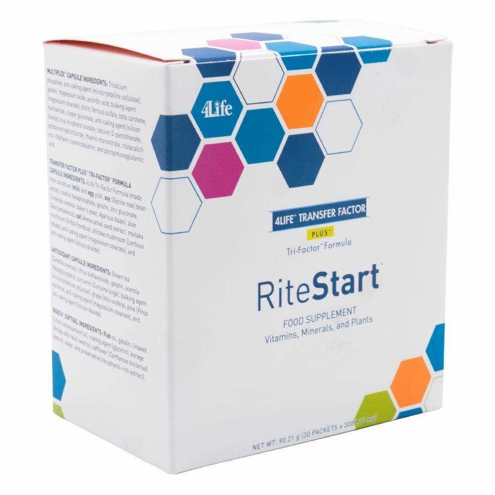 4Life Transfer Factor - RiteStart M/V - 30 dagen kuur