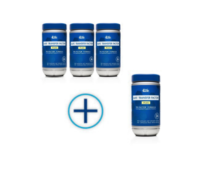 4Life Transfer Factor TriFactor PLUS - met cordyvant - 4 pack