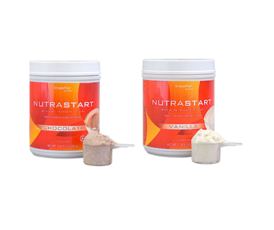 4Life Nutra Start with Transfer Factor - set 1x chocolate + 1x vanilla taste
