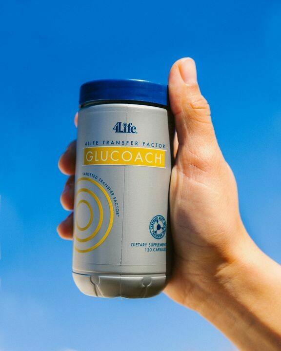 4Life Glucoach met Transfer Factor - bloedsuikerspiegel
