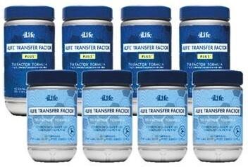 4Life Transfer Factor PROMO - 4 x TRIFACTOR + 4 x PLUS