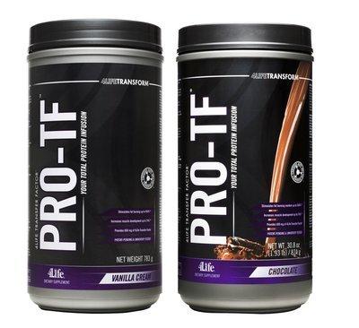 4Life ProTF met  Transfer Factor - 1x vanille + 1x chocolade