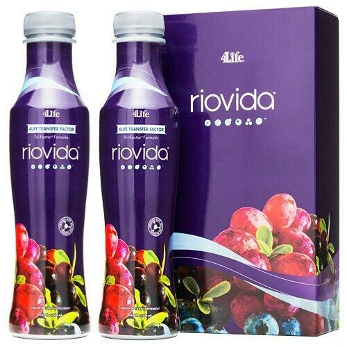 4Life RioVida met Transfer Factor - siroop - 2 flessen elk 500 ml