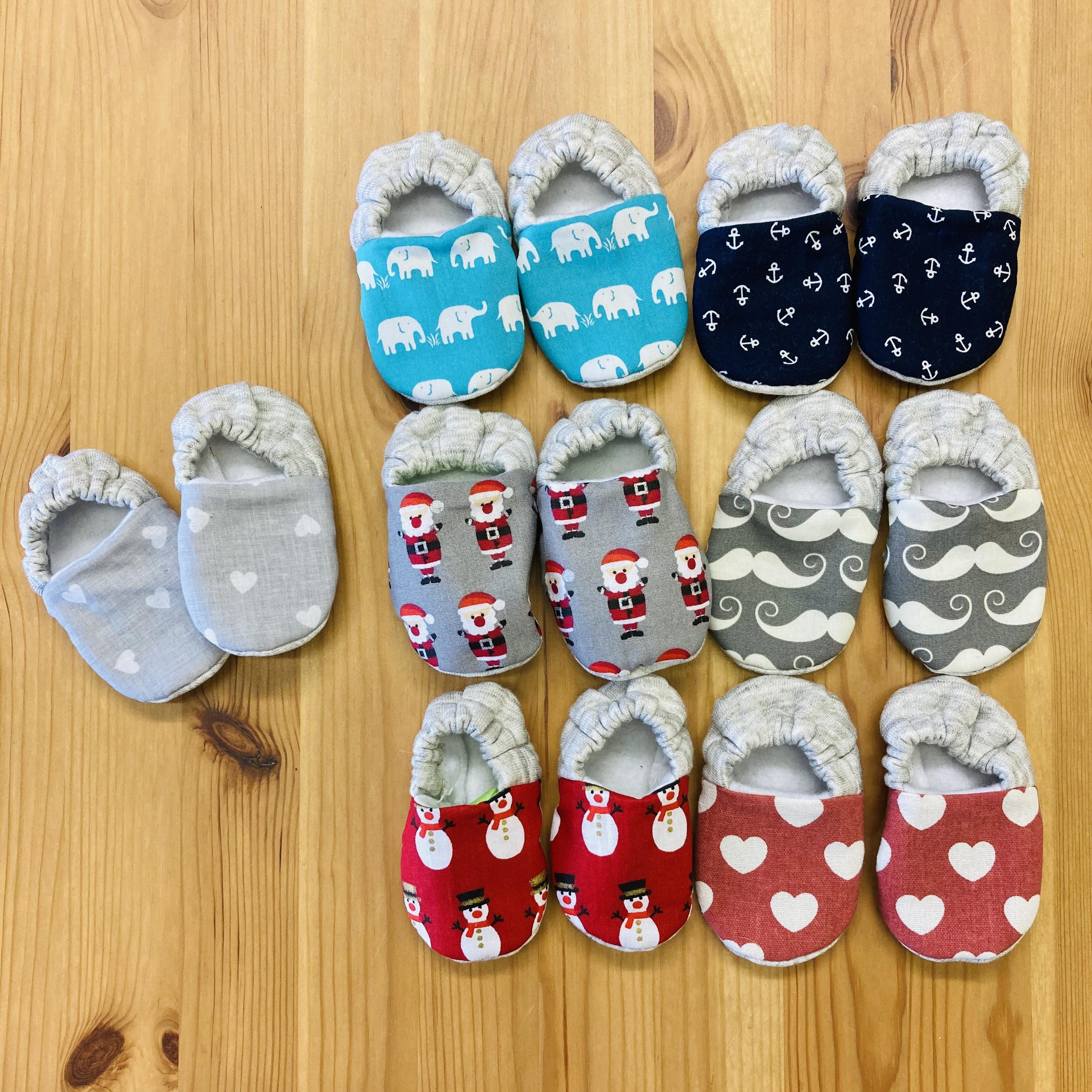 Newborn handmade baby booties MEbooties