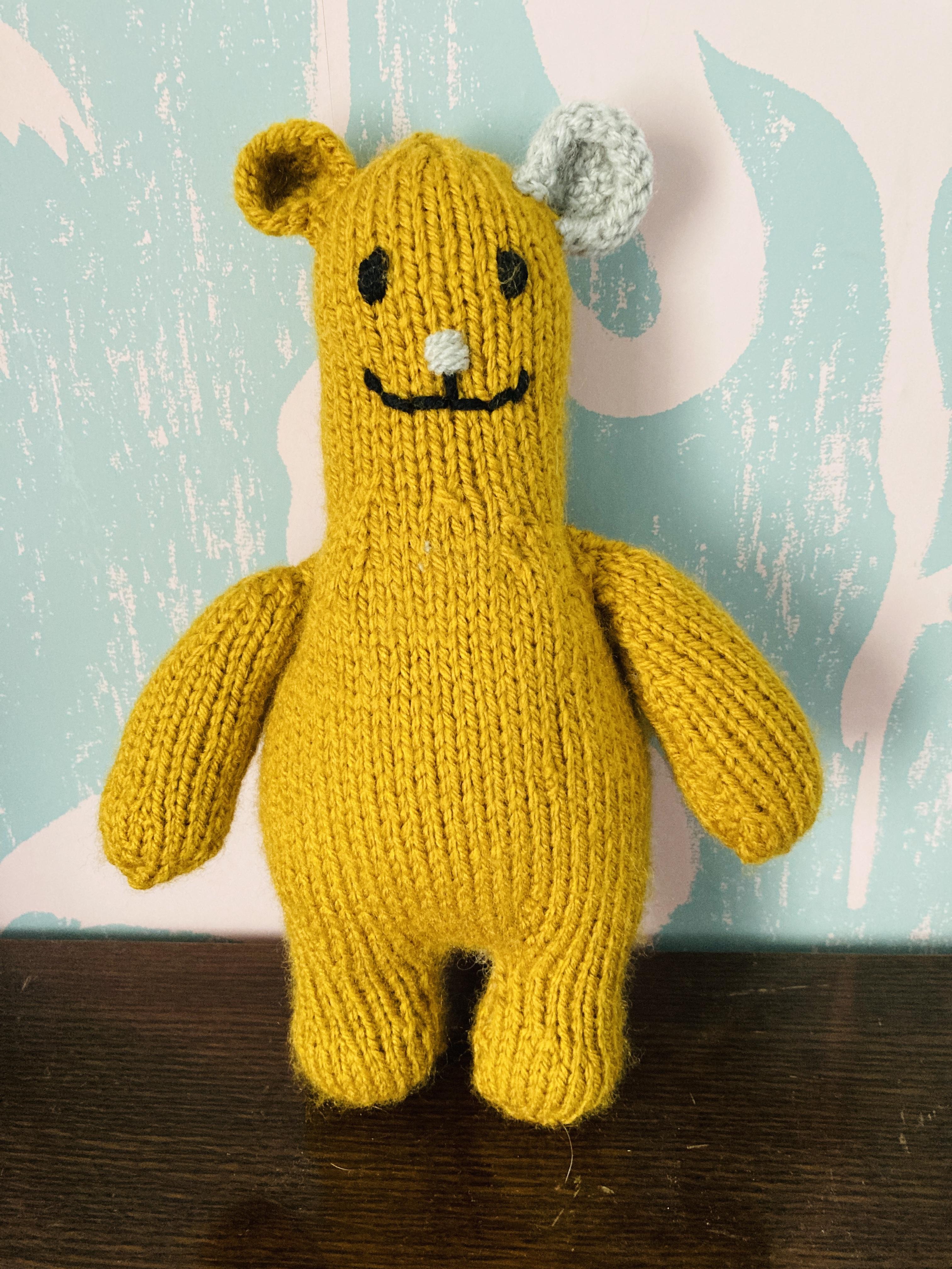 Handmade 'Hygge' Knitted Teddies