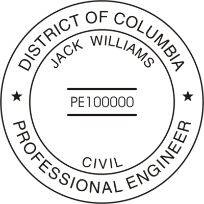 District of Columbia PE