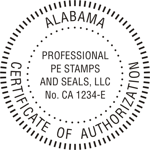 Alabama COA