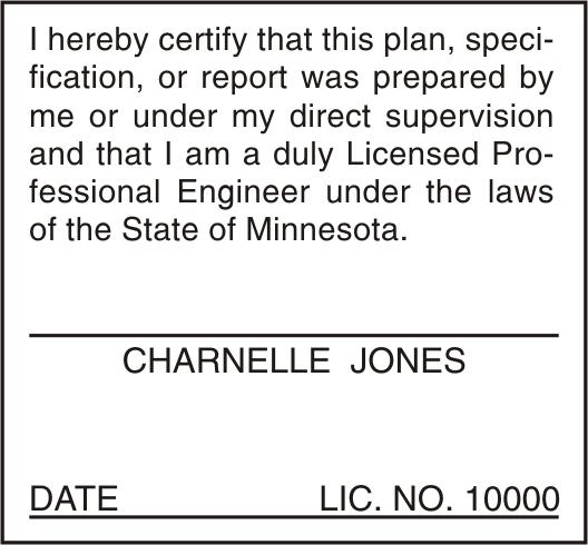 Minnesota Plan Stamp