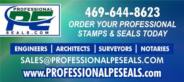 TPHANI'S DESIGNS - PROFESSIONAL PE SEALS