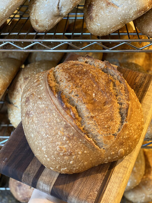 SPROUTED WHOLE WHEAT SOURDOUGH