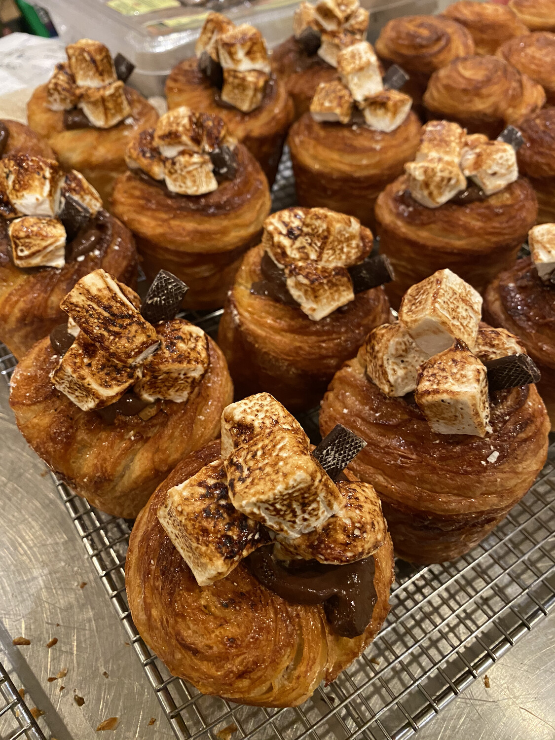 MEXICAN CHOCOLATE CRUFFIN----Saturdays Only