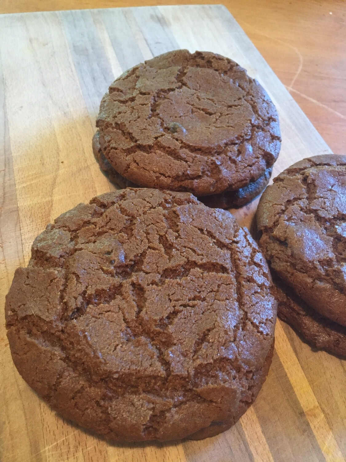GINGER MOLASSAS COOKIES