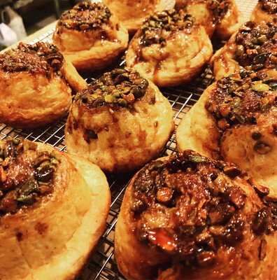 PISTACHIO MORNING BUNS--Saturdays Only