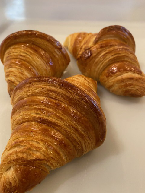 SOURDOUGH CROISSANTS PLAIN---Saturdays FM Only