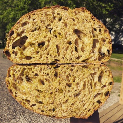 Leek And Turmeric Sourdough-Friday And Saturday Only