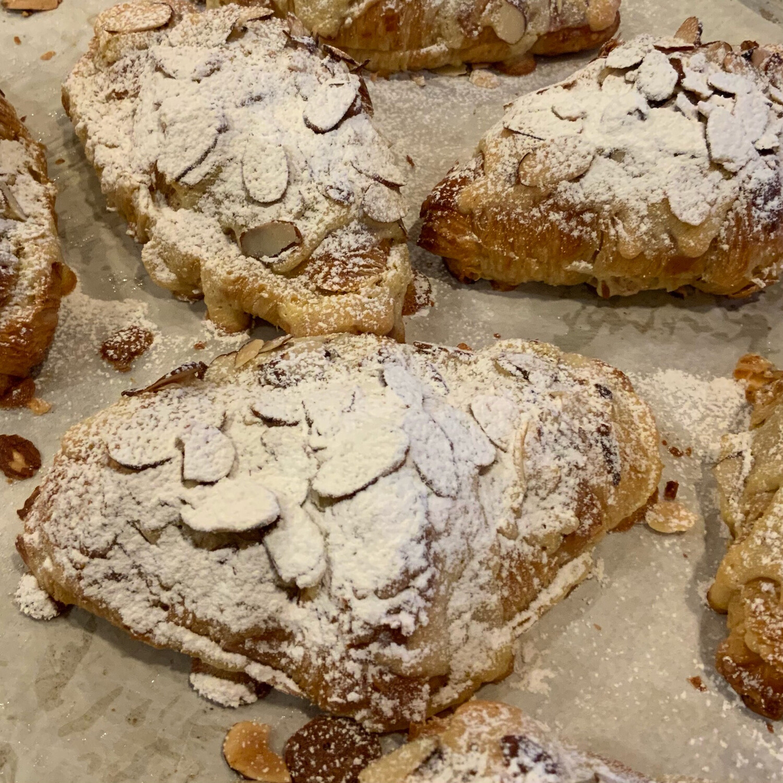 Almond Croissants-Saturday Item