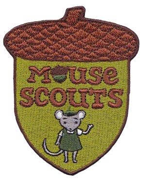 Mouse Scout Patch Pack of 20