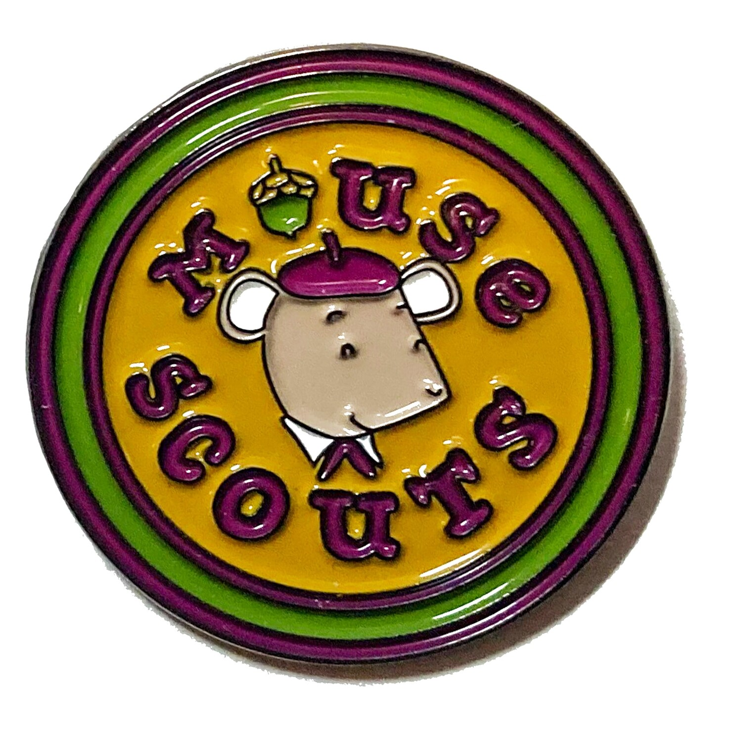 Mouse Scout Pin