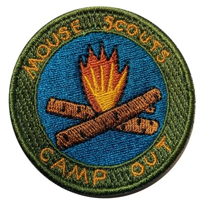 Camp Out Badge