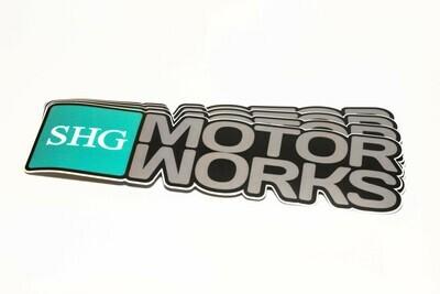 SHG Motorworks Wordmark Decal