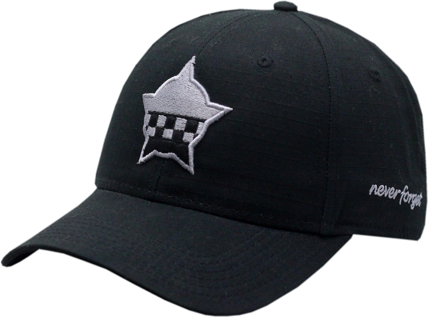 CPD Memorial Star Ripstop Adjustable Hat Subdued Black 19-1266