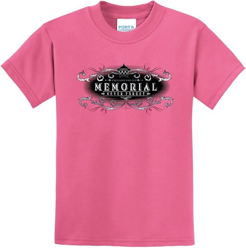 CPD Memorial Girls T-Shirt Metallic Logo