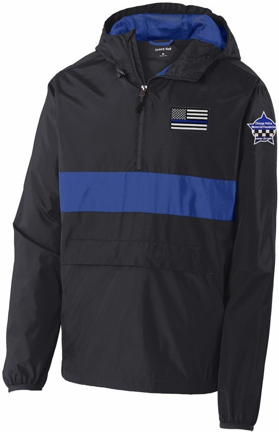 CPD Memorial Zipped Pocket Anorak Jacket 1/2 Zip