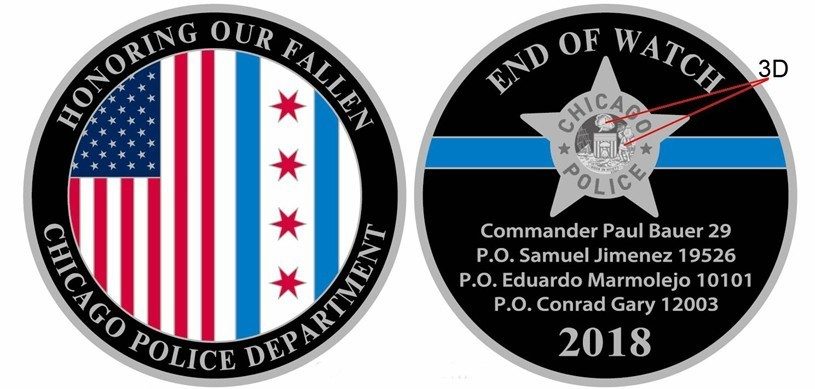 Honoring Our Fallen Challenge Coin
