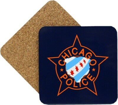 CPD Star Bear Face Coaster Set Of 4