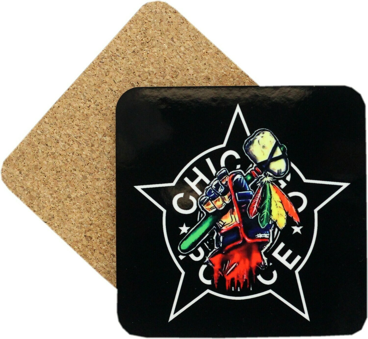 CPD Star Tomahawk Coaster Set Of 4