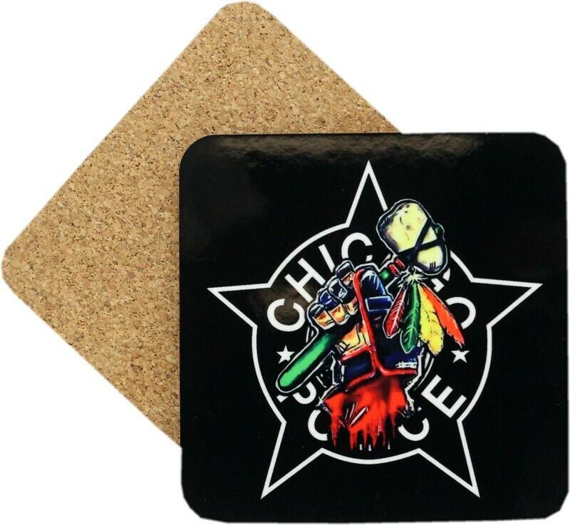 CPD Star Tomahawk Coaster Set Of 4