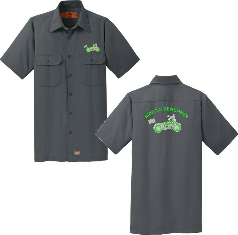 Ride To Remember Mechanic Work Shirt