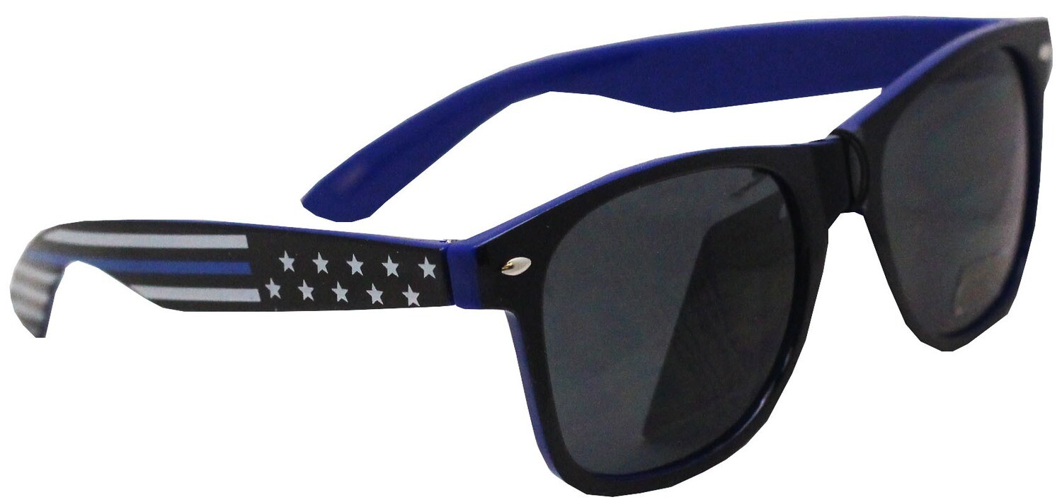 Blue Line Flag Sunglasses