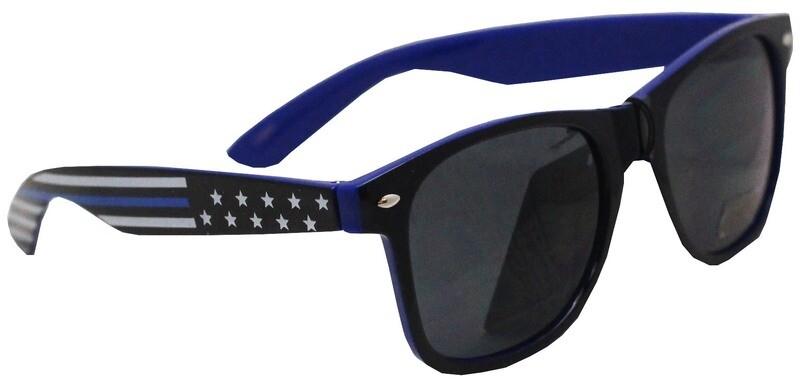 Blue Line Flag Sunglasses