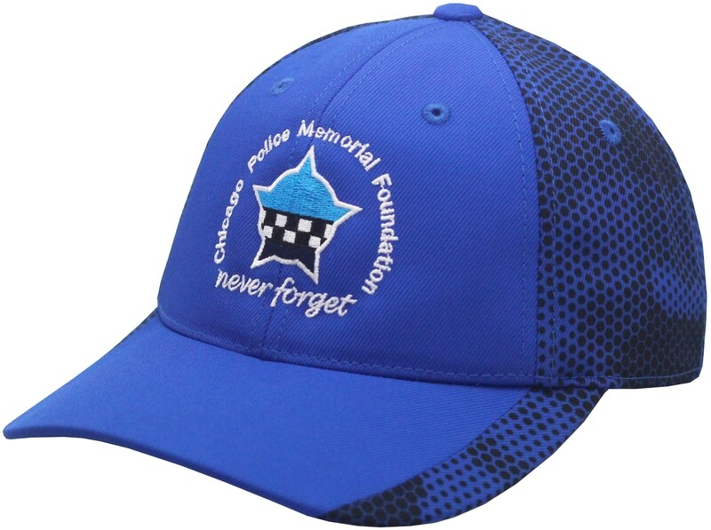 CPD Memorial Foundation CamoHex Hat Royal STC23