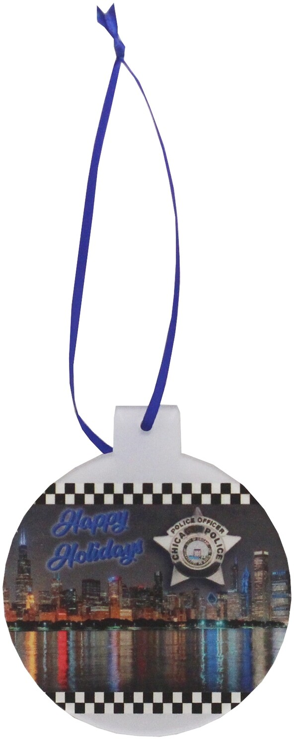 CPD Star Acrylic Ornament Round
