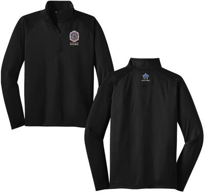 OEMC Sport-Wick® Stretch 1/2-Zip Pullover ST850